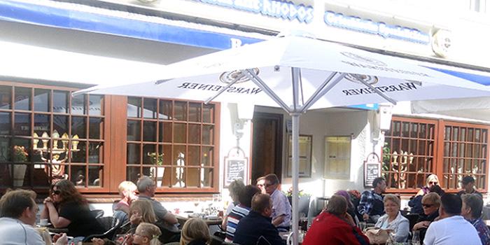 Restaurant Bad Segeberg - Restaurant Rhodos Außenterasse